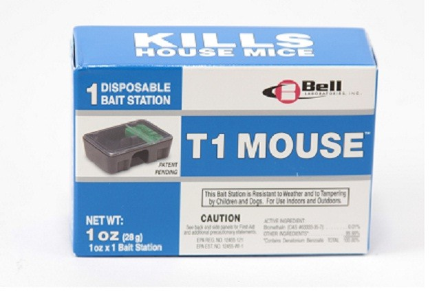 T1 Pre Baited Mouse Bait Station