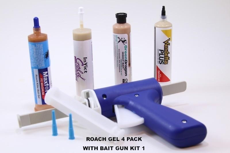 Roach Gel Kits 1 Oz Tubes