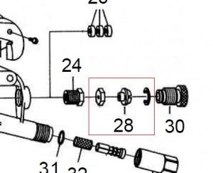 B&G AS – 148 ADJUSTMENT SCREW KIT