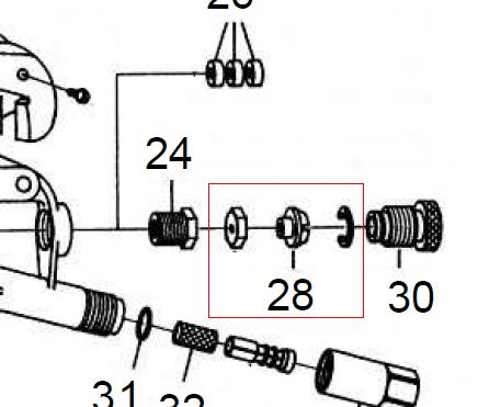 AS-148 ADJUSTMENT SCREW KIT