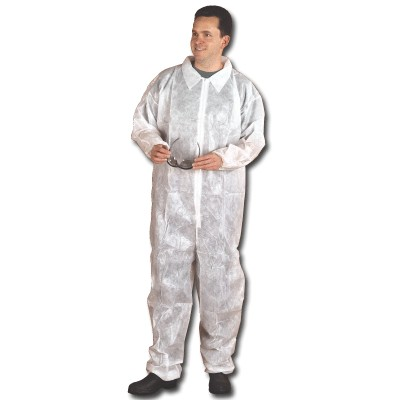 COVERALLS DISPOSABLE LARGE
