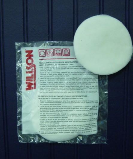 WILSON R95 PREFILTERS 1 PR