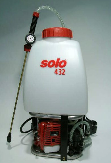 Solo Gas Powered 5 6 Gallon 432 Back Pack Sprayer