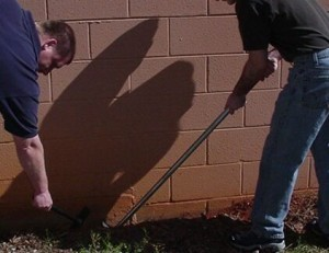 "TRENCHING TOOL 48"" FOR TERMITE TREATMENTS"