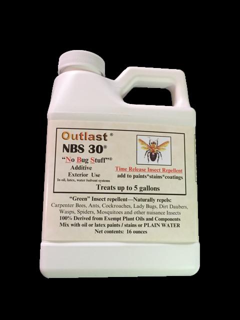 NBS PAINT ADDITIVE 16 OZ ORGANIC PEST REPELLENT