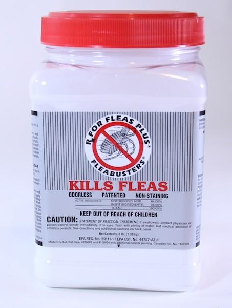 Once A Year Flea Powder 3 Lb Jar