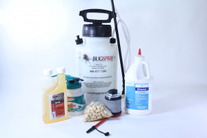 CARPENTER BEE KIT WITH DRIONE AND CYPERMETHRIN