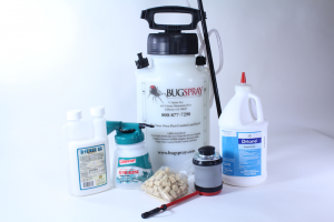 CARPENTER BEE KIT WITH PUMP SPRAYER AND DELTAMETHRIN