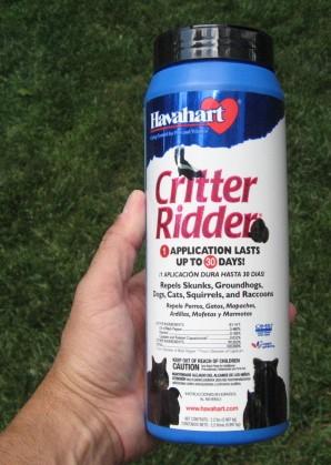 CRITTER RIDDER 2.2 LB