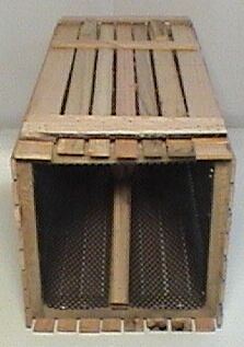"CRAYFISH WOOD TRAP 11""X11""X24"""