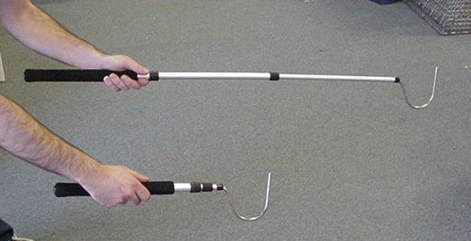 SNAKE HOOK TELESCOPIC HEAVY DUTY 39""