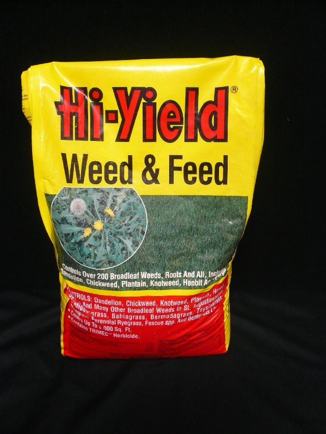 HI YIELD WEED & FEED 18lbs
