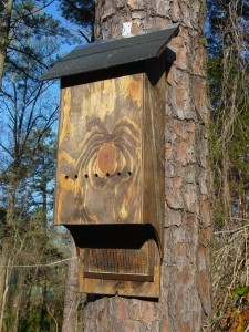 4 Chamber Medium Bat House Dark (ITEM # 954324)