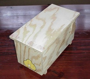 "BUMBLE BEE HOUSE 6"" X 6"" X 13"""